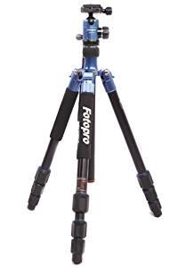 "Fotopro C5i 62.6"" Folding Monopod / Tripod with FPH-52Q Ball Head (Blue)"