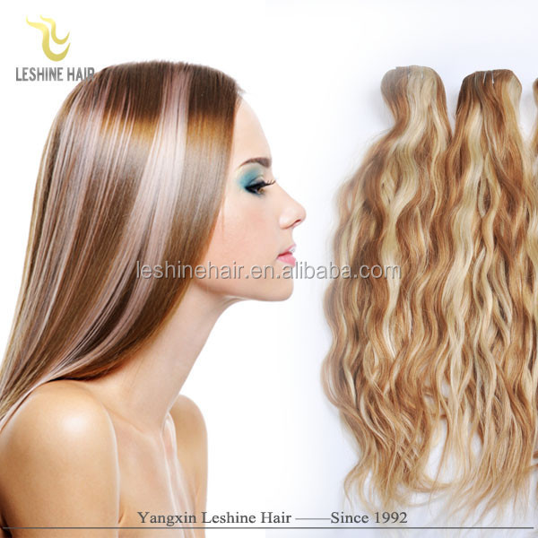 2015 Alibaba Golden Suppliers New Design Remy Top Quality Private Label human hair extensions clip in blond deluxe