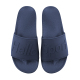 Oem Sport Sandals Flat,Custom Slides Footwear Rubber Beach Slippers,Custom Log Plain Slide Sandal Dark Blue Rubber Slipper