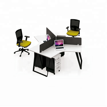 Workstation Computer Furniture Modular Desk Laptop Work Station Office Table