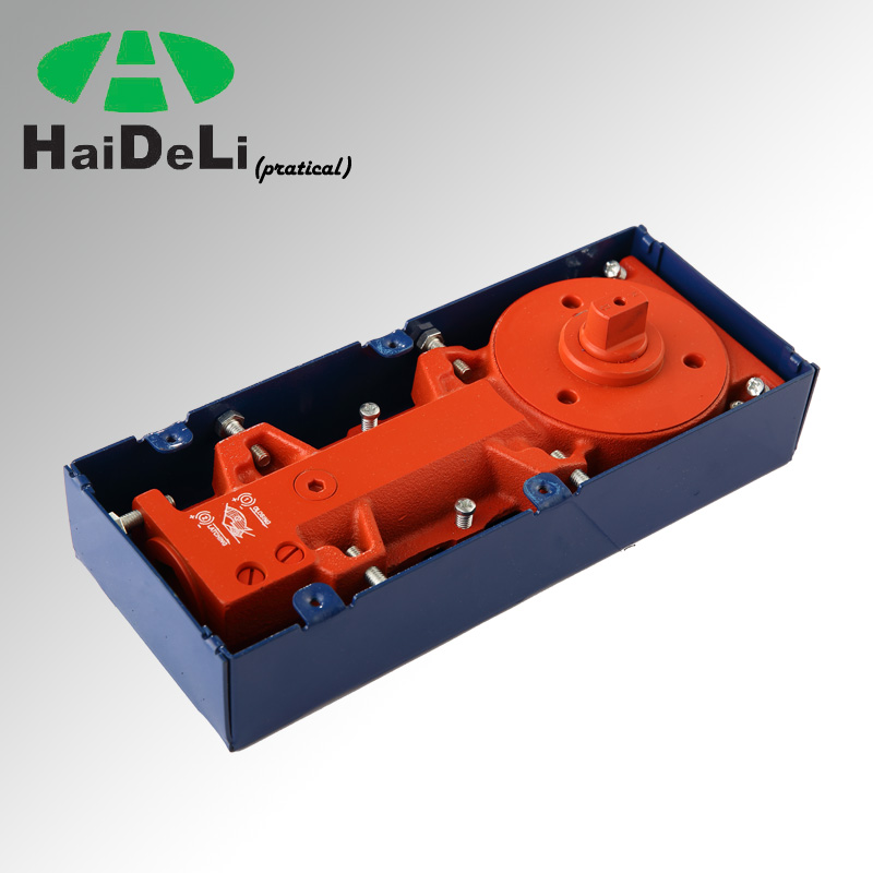 HaiDeLi two speed adjustable stainless steel double action floor hinge or floor spring H-718