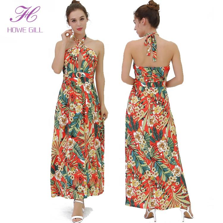 f5aa0c7676298 Long Hawaiian Dresses, Long Hawaiian Dresses Suppliers and Manufacturers at  Alibaba.com
