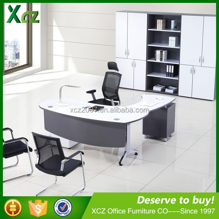 hot selling white and silver height adjustable metal office furniture desk modern