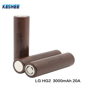Flat Top Battery 100% Genuine L G HG2 18650 3000mah In Stock