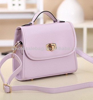 Cute Sweet Candy Color Summer Shoulder Bags For Girls Korean Small Women  Bags Women PU Leather c75ec56f19