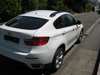 Used Bmw X6 40d New Car No Kilometers White Leather Red