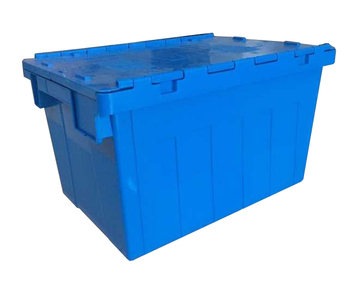 Hot Sale Plastic Tote Box Stacking Crates Wholesale Moving