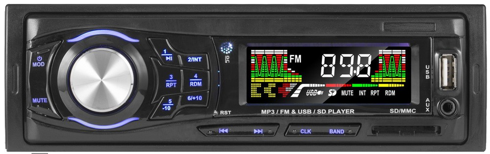 Fixed panel 7377/7388 alpine car audio connect aux with bluetooth
