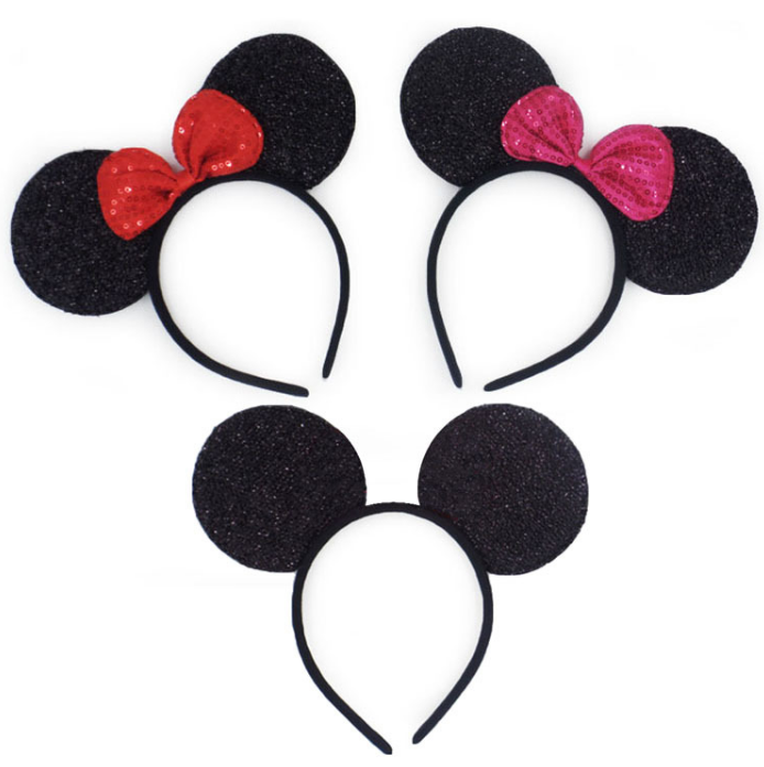 Christmas Headband Png.Party Supplies New Year And Christmas Headband Wholesale Cute Sequins Mouse Ear Animal Headband Buy Minnie Mouse Headband And Bow Kids Animal Ear