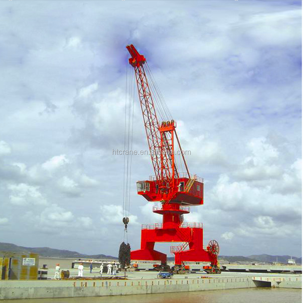 Single Jib Mobile Harbour Crane for Sale