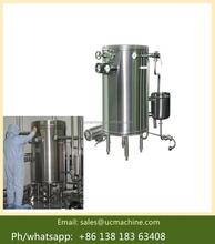 manual control type sterilizer uht steam sterilizer for juice,milk