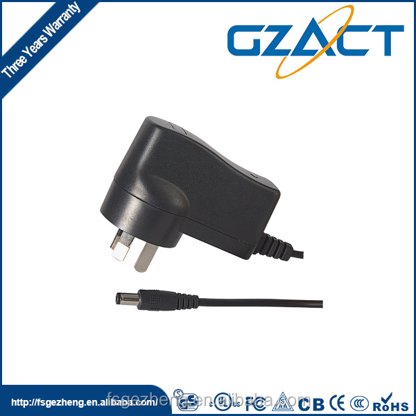 SAA 220 v ac dc 5 v 1a power adapter