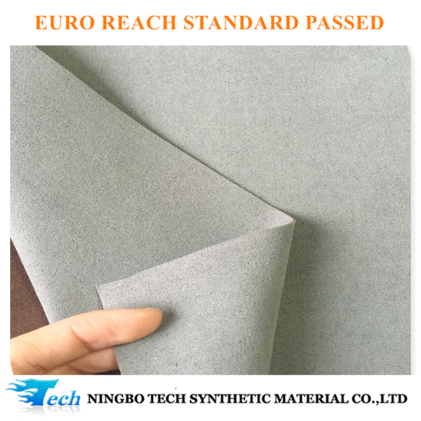 Alibaba Trade Assurance Microfiber suede leather with High Tech, high abriasion, tear for safety gloves making
