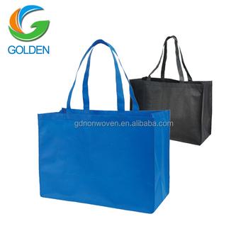 46aac0224 PP no tejido bolsas de embalaje bolsas/TNT tela no tejida bolsa de  vegetales tienda