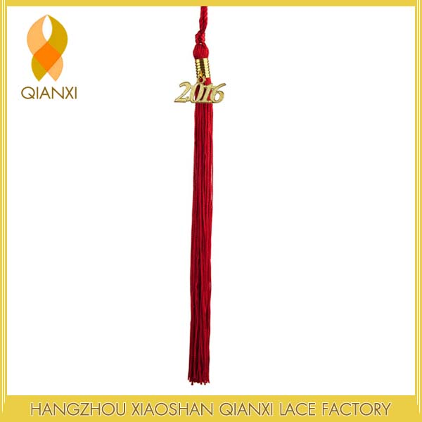"9"" Adult Graduation Tassels (Red) For 2017 Graduation"