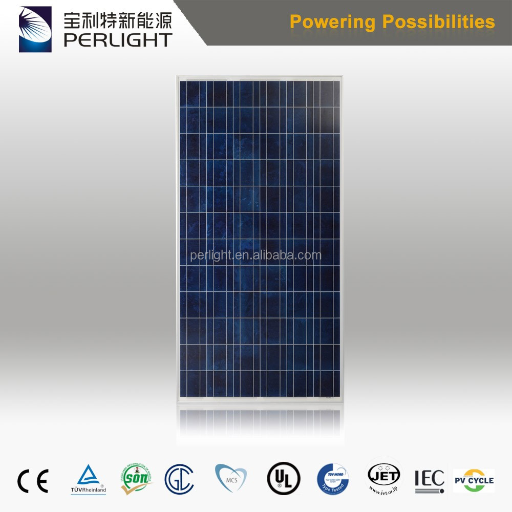 High Efficiency Best Price Perlight Solar Panel 300w For Solar Plant