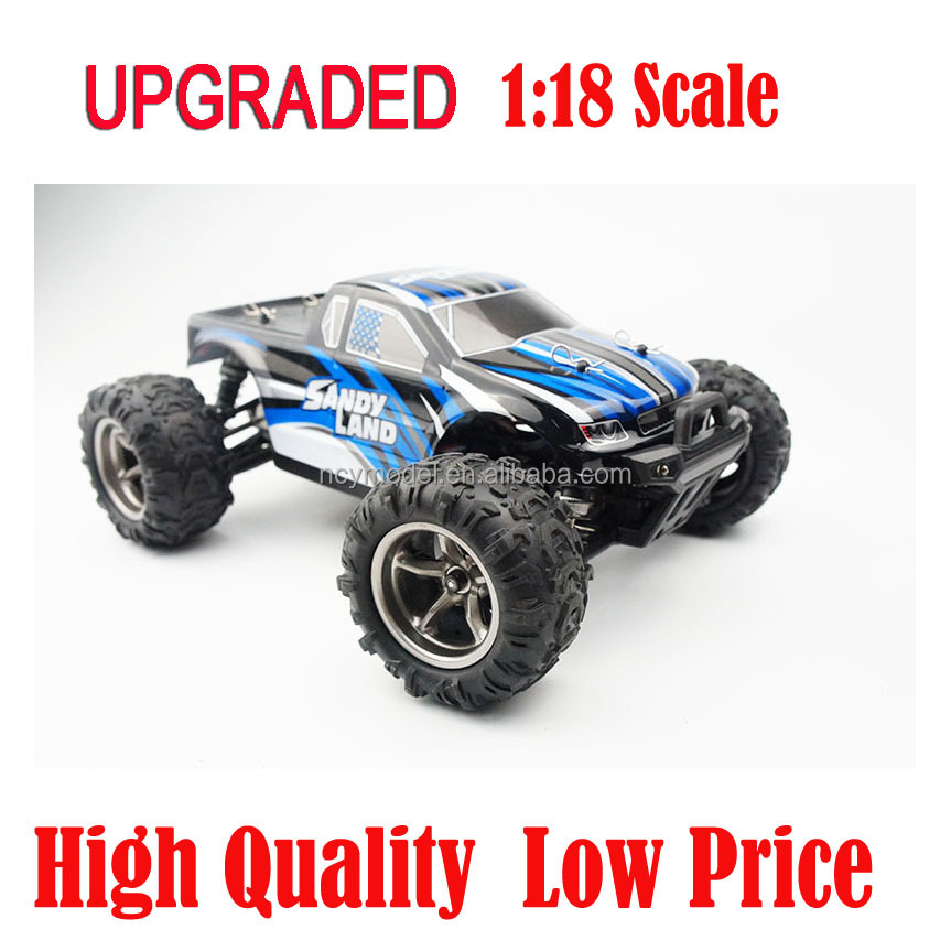Hsp Nitro Rc Car 1:18 Model ChengHai Toys RTR 4x4 Race Monster RC Truck 4WD Off Road Adult Electronic RC Toys