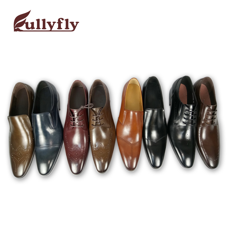 leather dress shoes leather men shoes shoes cow genuine TyOWcBqBf