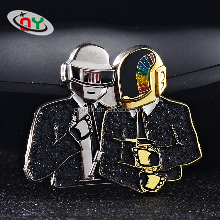 Hight quality hot sale custom hard enamel lapel pin badges with logo metal