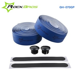 ROCKBROS High Quality Bike Grip Tape Cork EVA Handlebar Tape + 2 Bar Plug