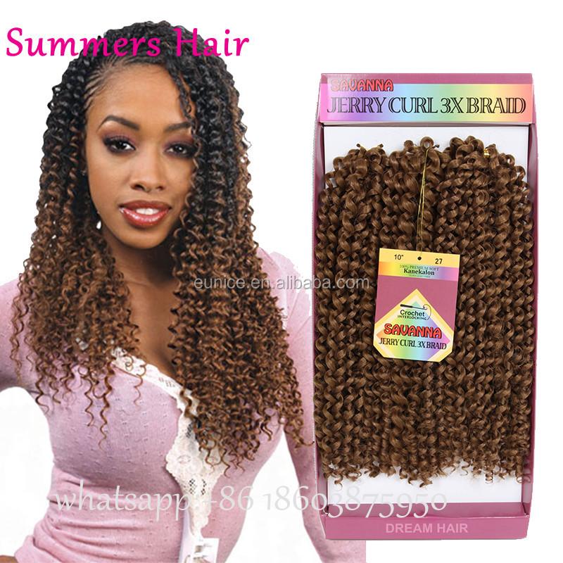 Alibaba Freetress Hair Synthetic Crochet Braiding Hairstyle