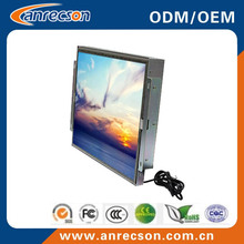 "15"" open frame LCD Monitor with RS232 inputs customized model"