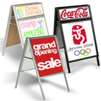 metal outdoor a frame sign stand buy metal outdoor a frame sign