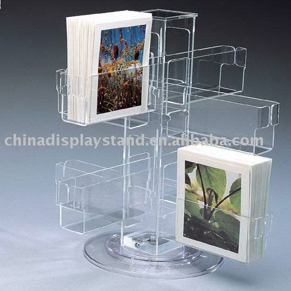 A5,1/3a4 Acrylic Leaflet Holder/display Stand/rack With 4-face ...