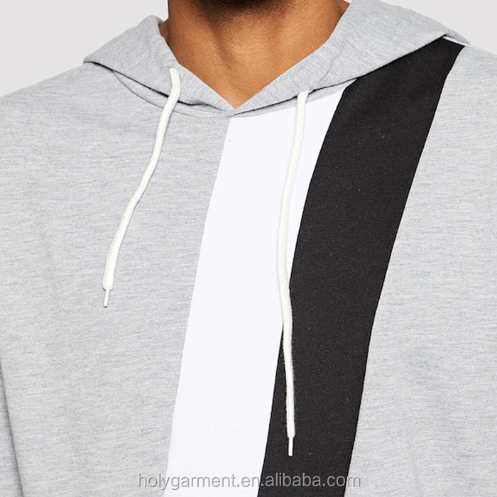 factory direct drawstring hoodie & jogger sets men cotton tracksuit with stripe