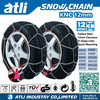 ATLI KN12mm steel zinc plated snow tire chains tyre chain anti skid chain