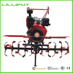 Professional Cheap Multifunctional Manual Garden Rotary Tiller For Paddy Cultivation