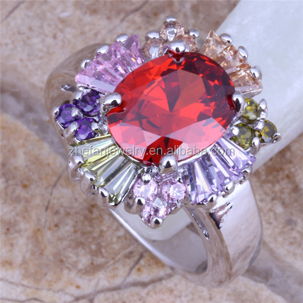 China Supplier Mothers Ring Cubic Zirconia Ring