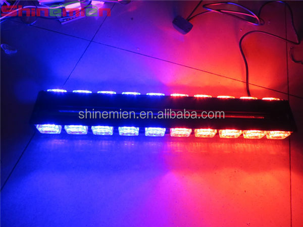 Car Lights Yellow White Blue Amber Red Green Led High Power Strobe Light Fireman Flashing Police Emergency Warning Fire Flash Car Truck