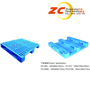 ISO Standard Manufacturer Heavy Duty Warehouse Racking Plastic Pallet with Sides