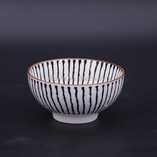 Cheap 4.5 inch Personalized Plain Round Ceramic Porcelain Japanese Bowl