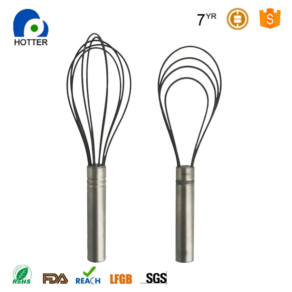 Kitchen tools high quality silicone wire whisk