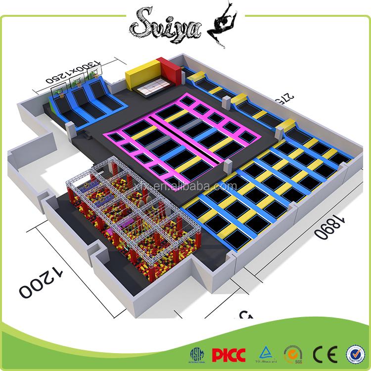 trampolin arena innen trampolin park trampolin produkt id 60077417951. Black Bedroom Furniture Sets. Home Design Ideas