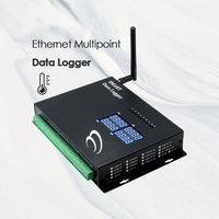 GSM Mobile Multipoint Ethernet humidity temperature data logger
