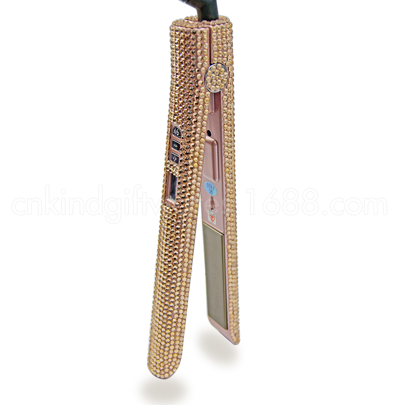 Beautiful Rhinestone Professional Hair Straightener All In One Cheap Sales Good In Stock