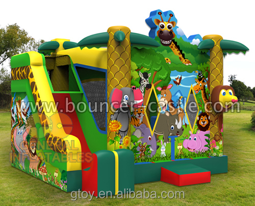 2016 New Design Jungle Combo Jumping Tents For Party Rental In China - Buy Jumping Castle For SaleJumping Tent ComboBouncing Castle For Sale Product on ... & 2016 New Design Jungle Combo Jumping Tents For Party Rental In ...