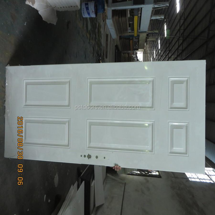 China american white 2 panel steel door wholesale 🇨🇳 - Alibaba