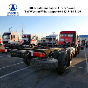 BEIBEN high quality 6x4 cargo truck chassis for sale factory price