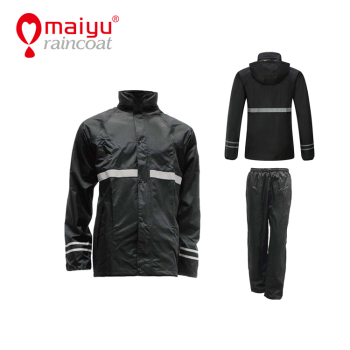 Maiyu Hangzhou a raincoat rain jacket men one piece rain suit customized