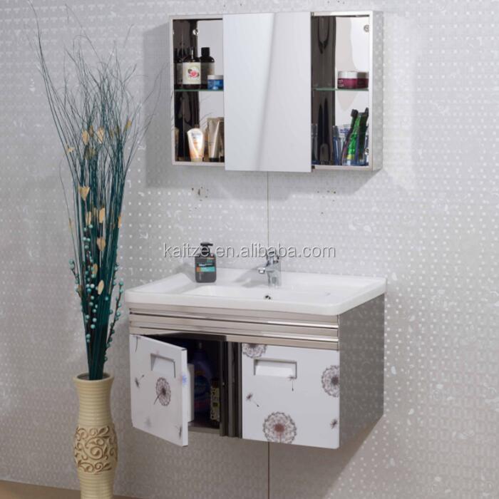 Kb 7001 Modern Style Wash Basin Wall Hung Cheap Bathroom Vanity Sets