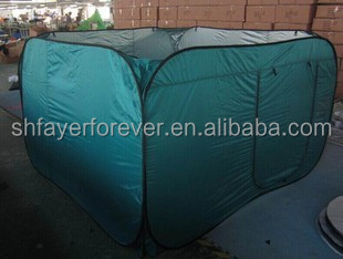 Wall Shower Tent/pop-up Changing cloth shelter/Camping Bathroom tent