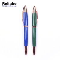 Reliabo China Promotional Luxury Business Executive Twist Heavy Metal Ball Pen