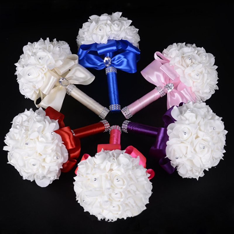 Wedding Flowers Cheap Online: Popular Cheap Brooch Bouquets-Buy Cheap Cheap Brooch