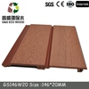 Factory price ! pvc wood plastic exterior wall cladding with great price