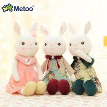 Indah Metoo Kelinci Boneka Mainan Mewah Hewan Boneka Mewah untuk anak-anak 2414fb4f08