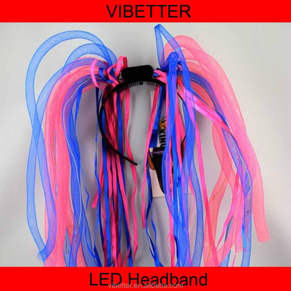 LH-001 Neon Rave Led Mie Rambut Band